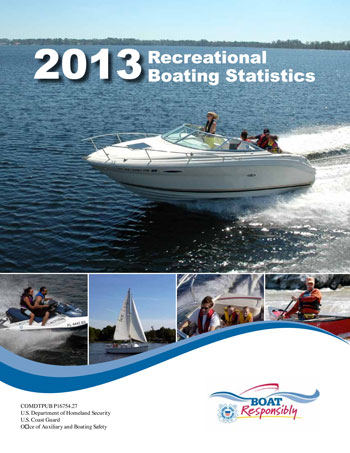 U.S. Coast Guard Recreational Boating Statistics 2013 cover