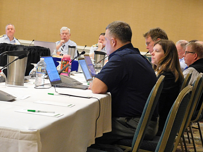 NBSAC97 closing report from Strategic Planning subcommittee, small image