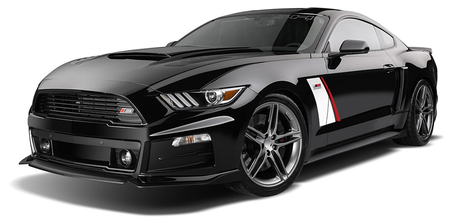 Stage 3 ROUSH Mustang this is a 2015, the prize is a 2016