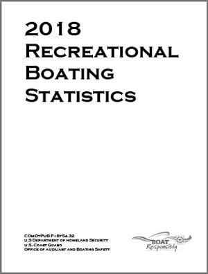 USCG Recreational Boating Statistics 2018