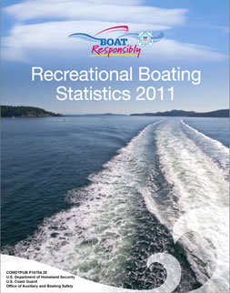 USCG Boating Statistics 2011 cover