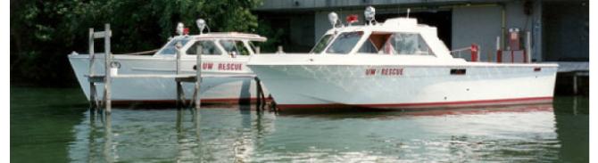 University of Wisconsin - Madison LIfeSaving boats