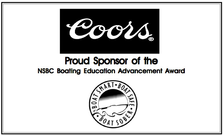 Coors sponsors National Safe Boating Council award in 2004