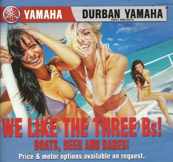 Yamaha Durban ad