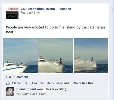 Yamaha Malaysia Facebook Page