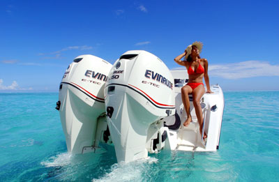 Evinrude ad used Internationally