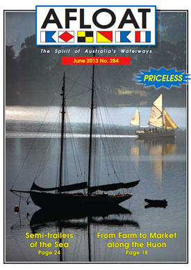 Afloat, June 2013 Cover