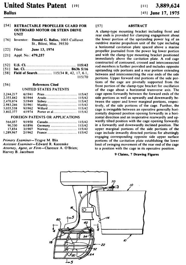 Balius Patent 3,889,624