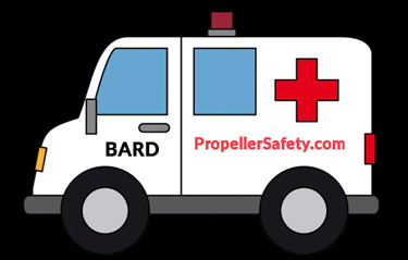 Propeller Safety BARD help logo 375px