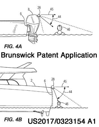 Brunswick Patent Application US 2017/0323154  Figures 4A & 4B