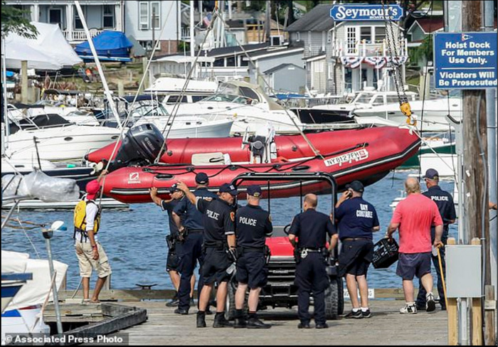 Centerport Yacht Club RIB involved in the accident