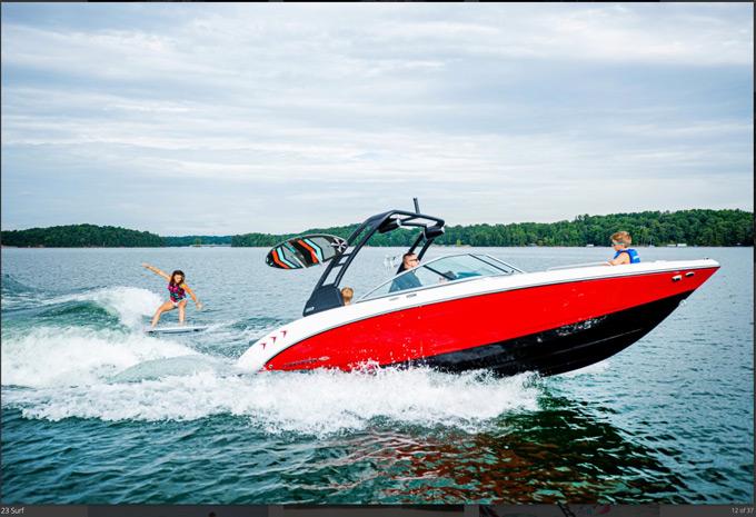 Chaparral boat 23 Surf Series 2021 model
