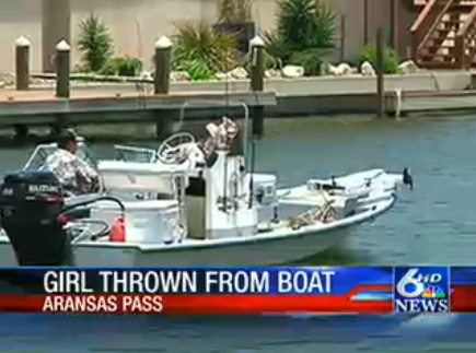 Kali Gorzell Accident Boat