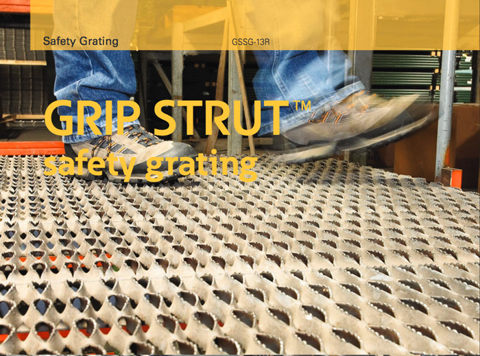 Grip Strut safety grating. Image courtesy of Eaton