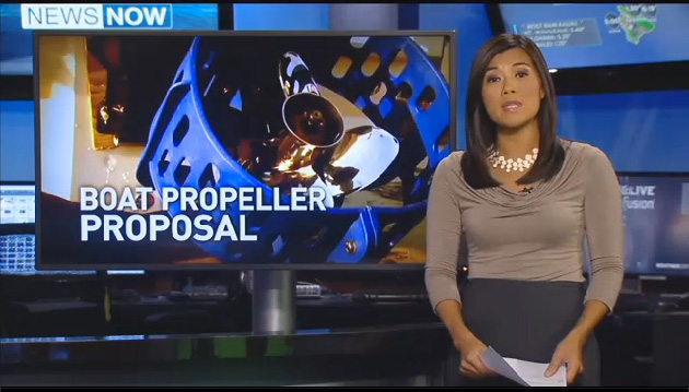 Hawaii proposes propeller guard bill. Hawaii News Now