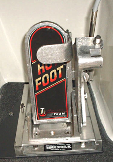 Hot Foot throttle from TH Marine