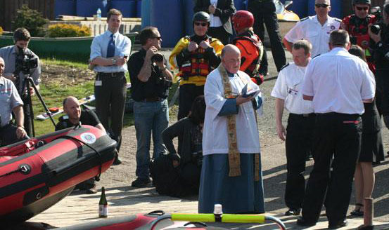 Lincolnshire Rescue Boats Blessed