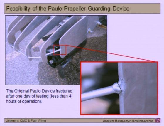 Listman Trial - Propeller Guard Fracture