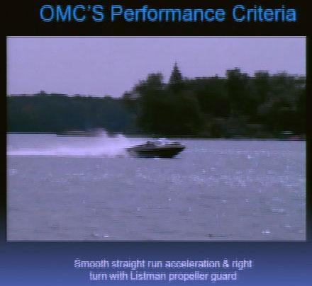 Listman Trial - Performance Criteria plume