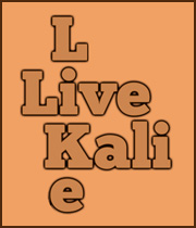 Live Like Kali stamp