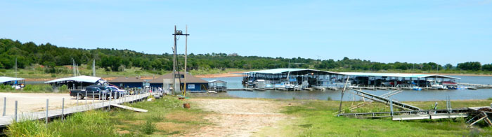 McFadden Cove Marina on Kaw Lake