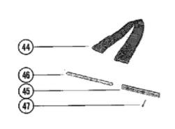 Mercury Marine 1150 parts manual 90-63296 copyright 2009 page 98.