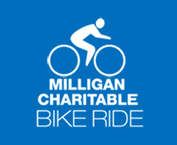 Milligan Charitable Bike Ride logo
