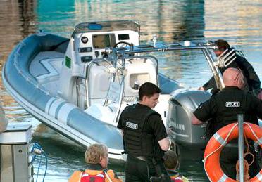 Nicholas Milligan's Boat / RIB