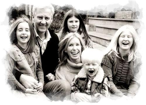 Nicholas Milligan family