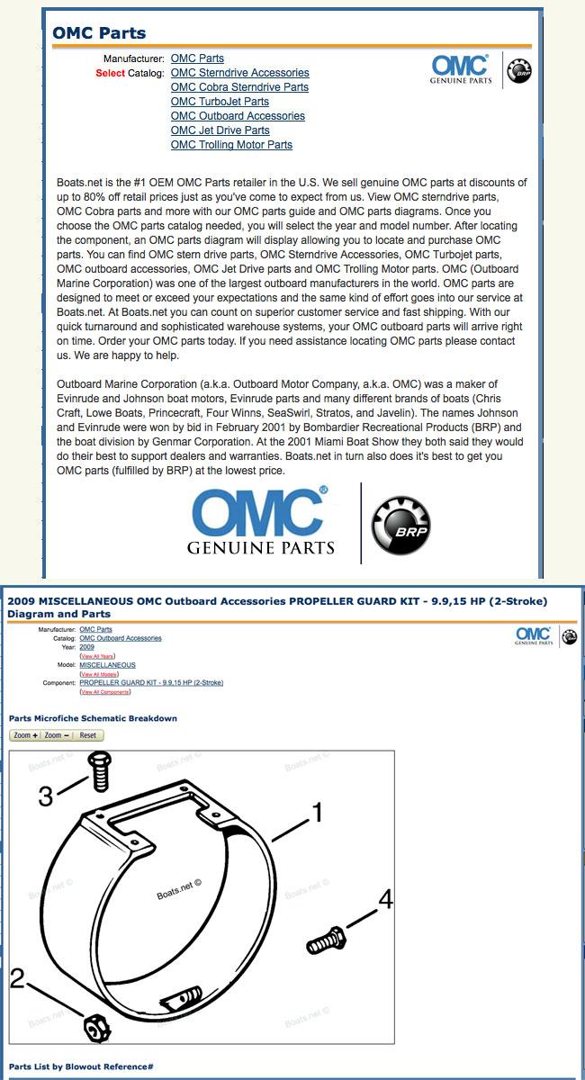 OMC Propeller Guard