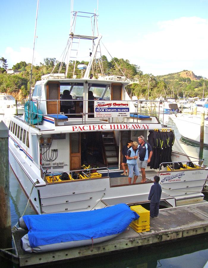 Pacific Hideaway catamaran