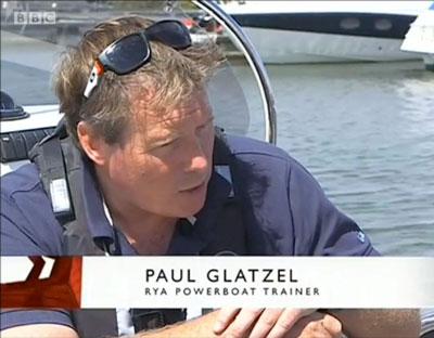 Paul Glatzel of the RYA
