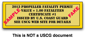 Propeller Fatality Permit mockup