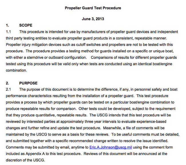 New Propeller Guard Test Procedure Page 3