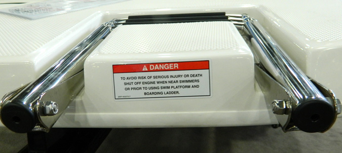 Propeller Warning Decal with Ladder