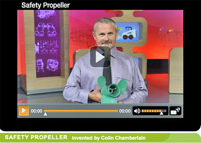 Safety Propeller wins invention award