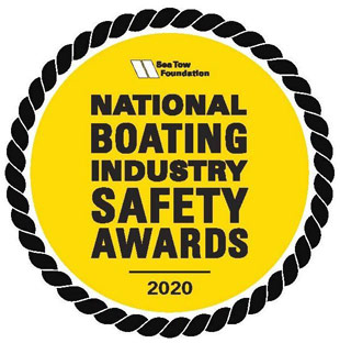 National Boating Industry Safety Awards 2020 emblem