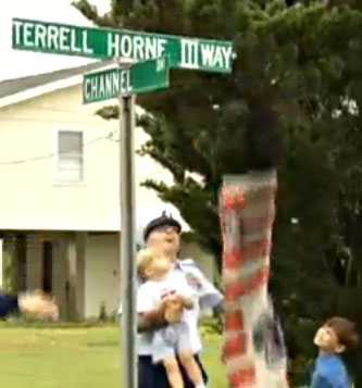 Terrell Horne Street Sign Unveiled