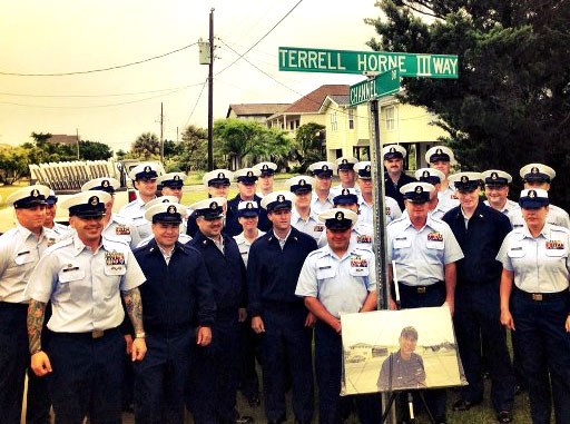 U.S. Coast Guard Celebrates Renaming of Terrell Horne III Way