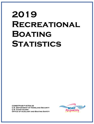 USCG Recreational Boating Statistics 2019