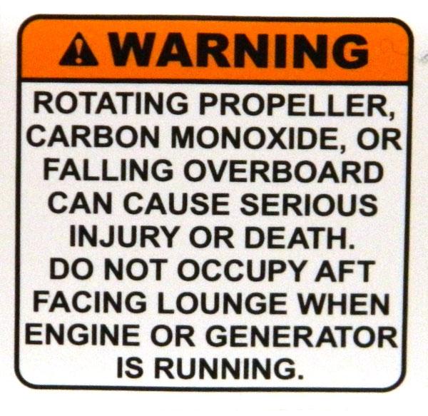 Multi warning. 2014 Tulsa Boat Show, including carbon monoxide.