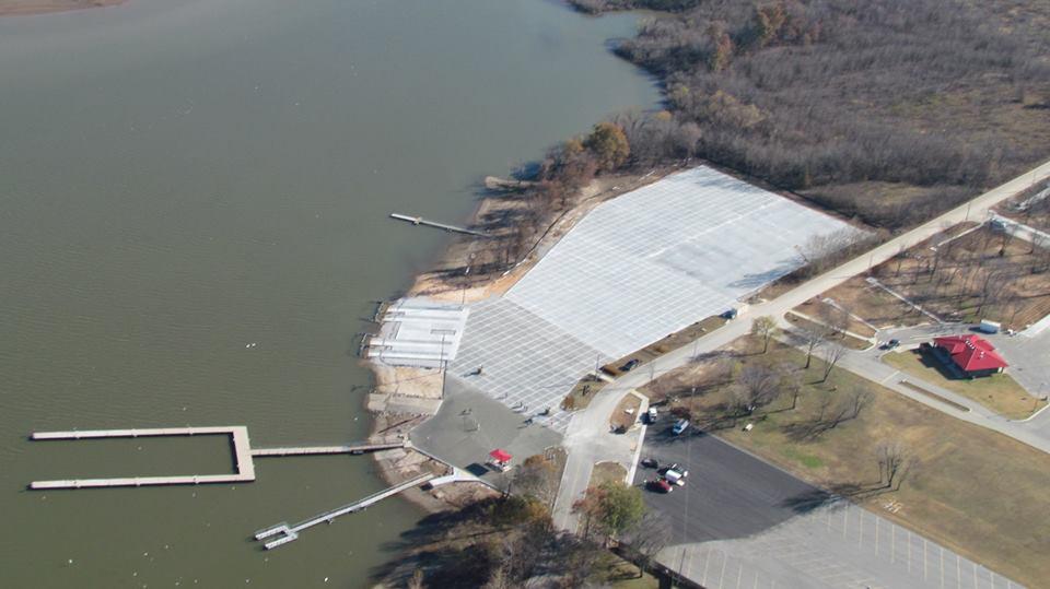 Wolf Creek boat ramp improvements 15 December 2015