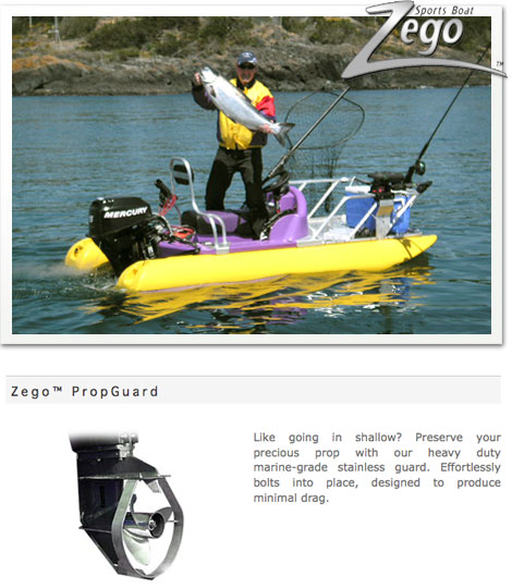 Zego Boat and Propeller Guard