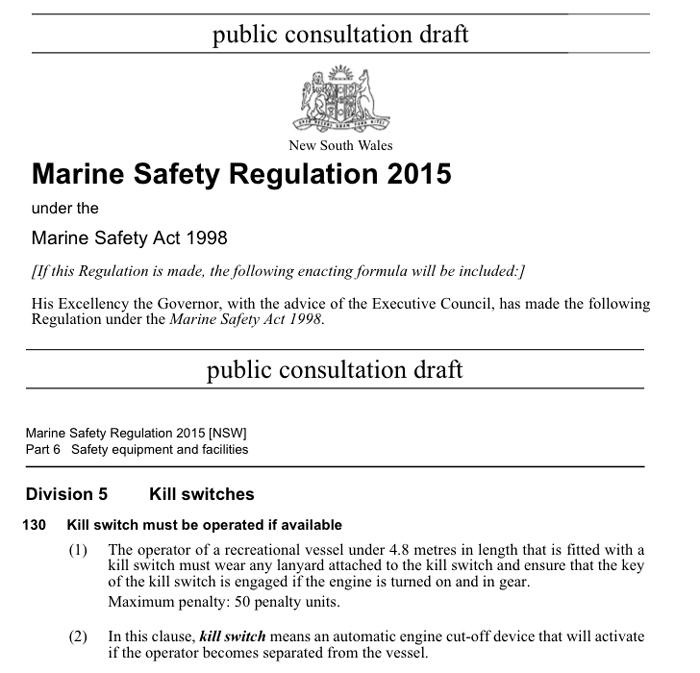 2015 NSW kill switch proposal
