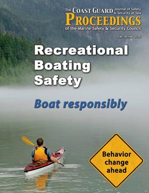 NBSAC97 Coast Guard Proceedings magazine Fall-Winter 2016 cover