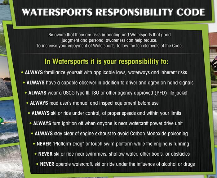 WSIA Watersports Responsibility Code