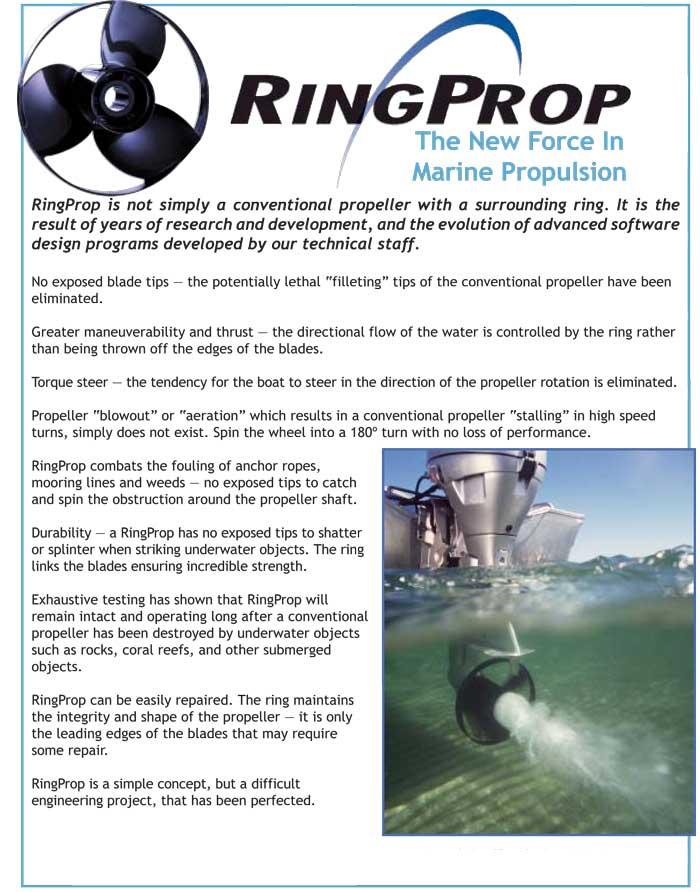 RingProp Propeller flyer