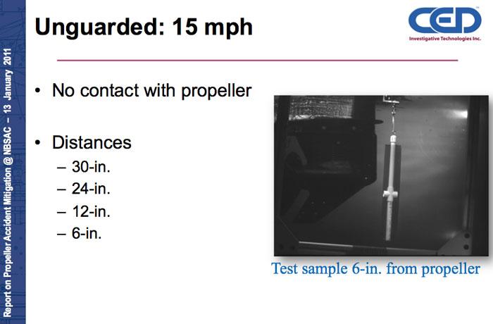 SUNY 15 mph open prop