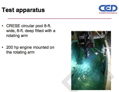 SUNY CRESE Propeller Guard Test Apparatus