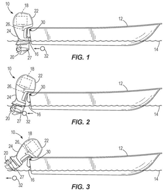 Brunswick log strike monitoring patent Figures 1,2,3